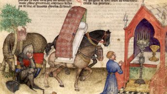 Lancelot à la Chapelle du Graal