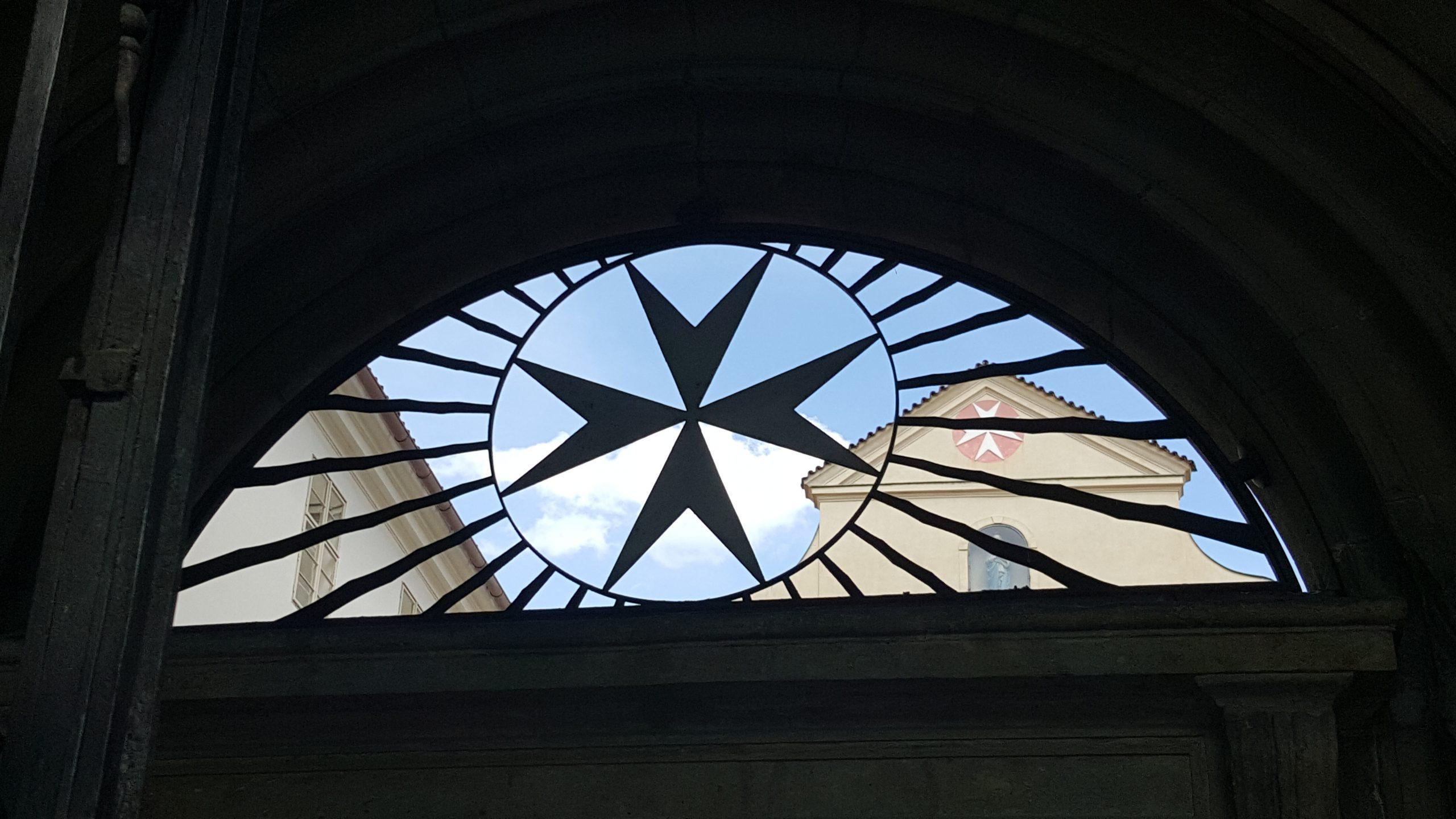 Prague, maison de l'Ordre de Malte