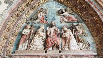 Tympan de la cathédrale de Burgos