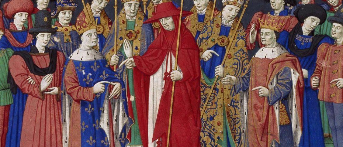 Louis VII et Henri II d'Angleterre