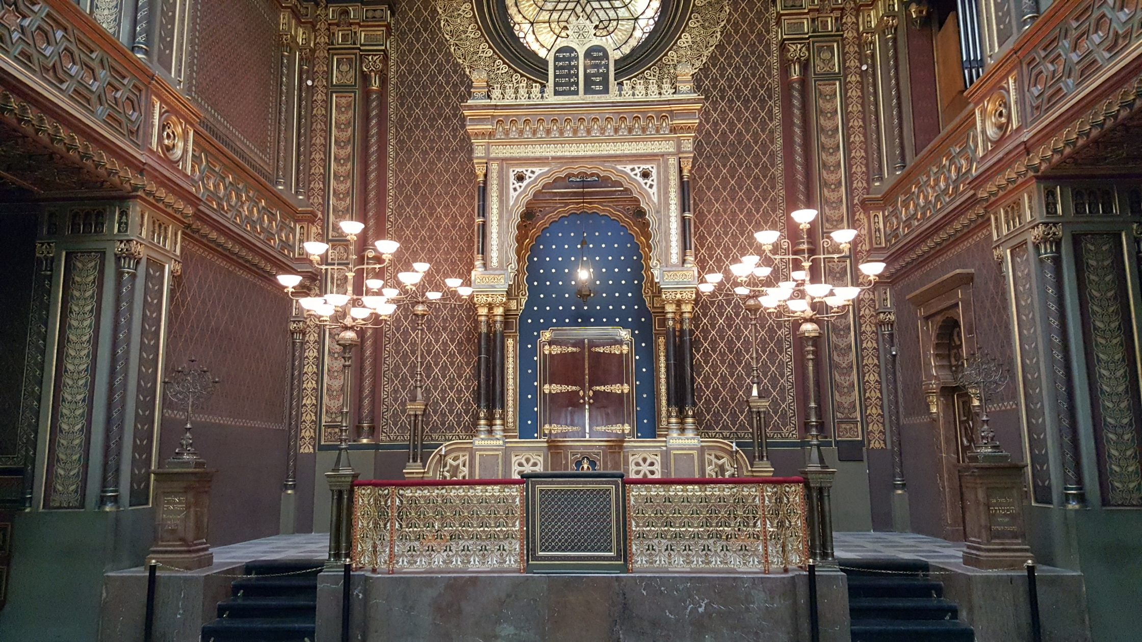 Synagogue espagnole de Prague