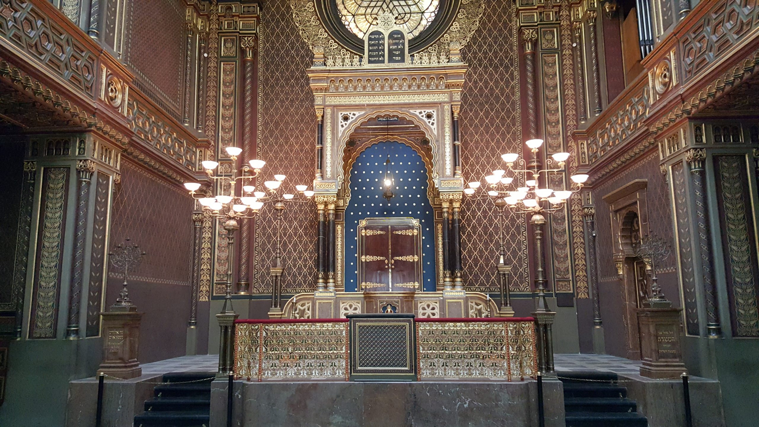 Synagogue espagnole de Prague