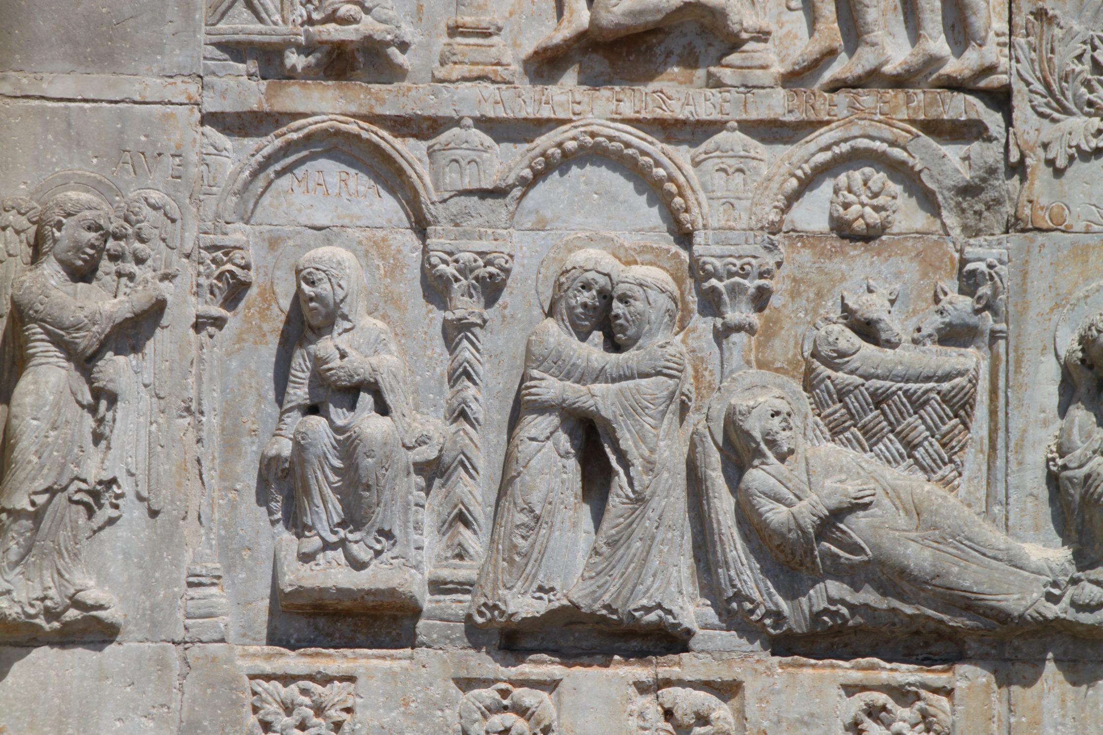 Annonciation, Visitation et Songe de Joseph