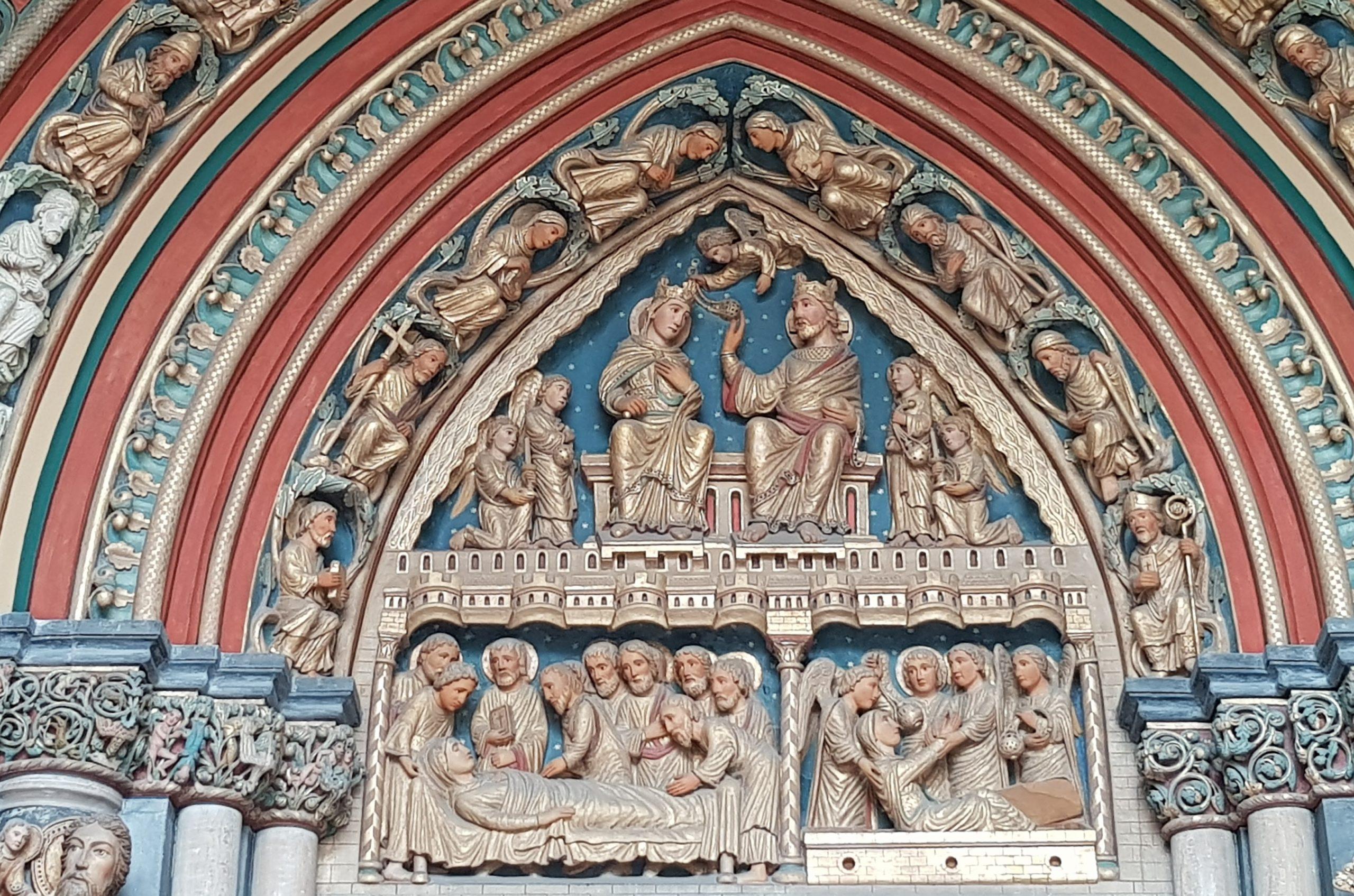 Portail sud de la Basilique Saint Servais