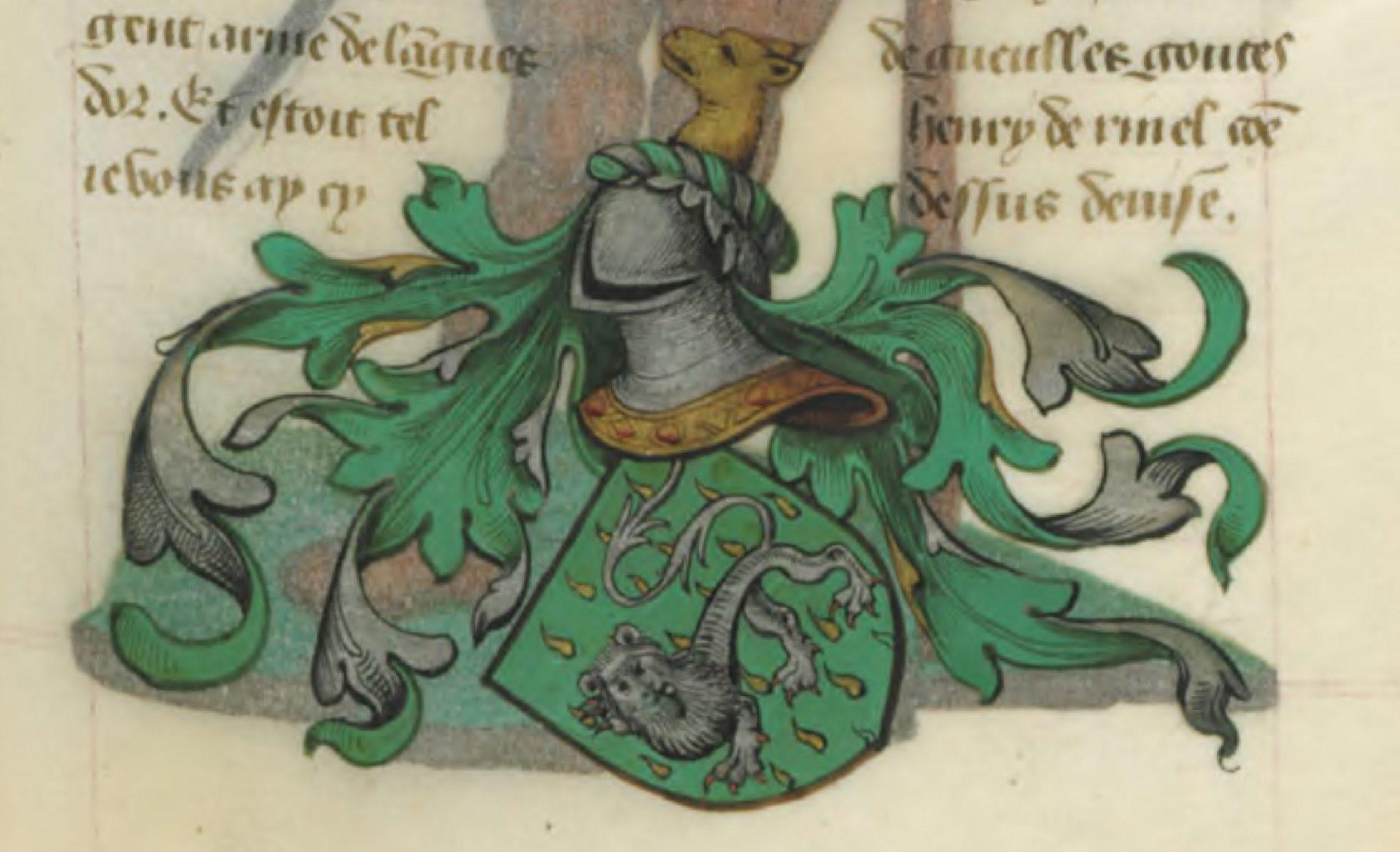 Blason d'Henri de Rivel
