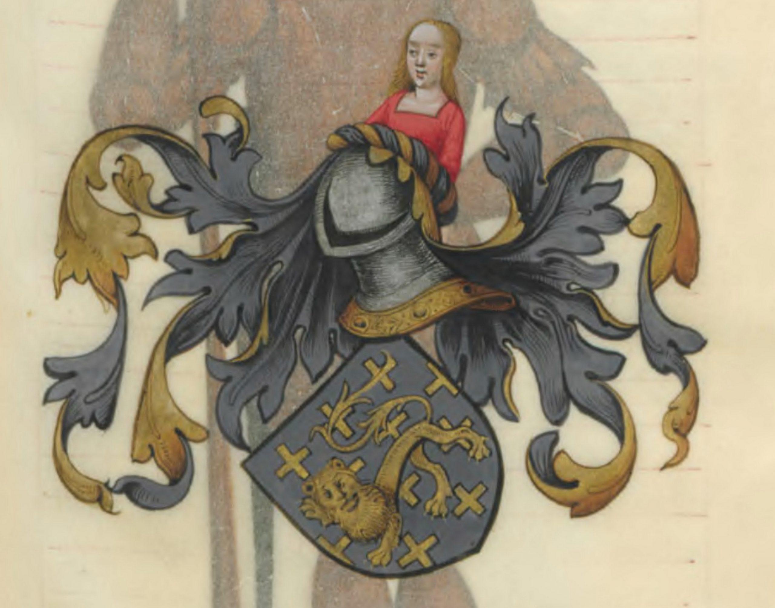 Blason de Lamorat de Galles