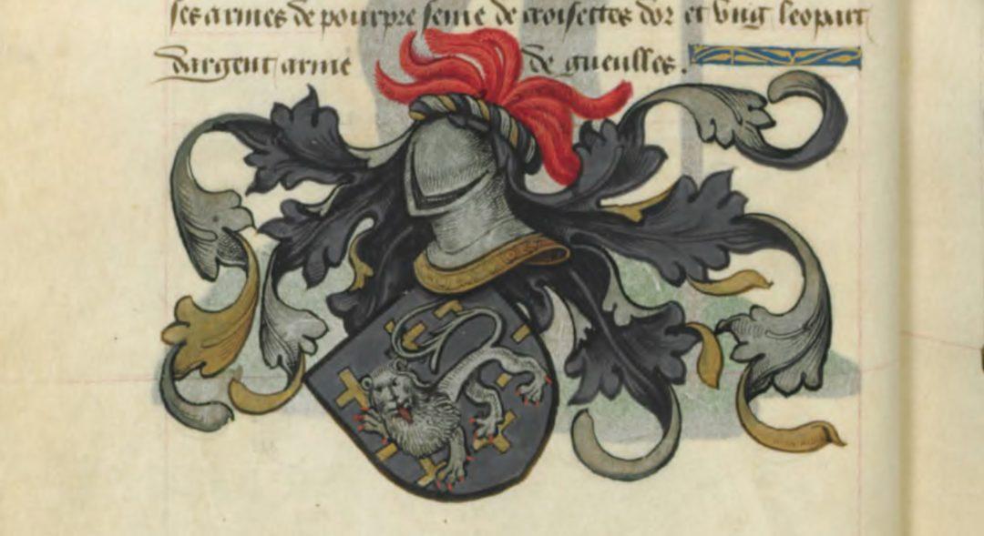 Blason de Lamorat de Listenois