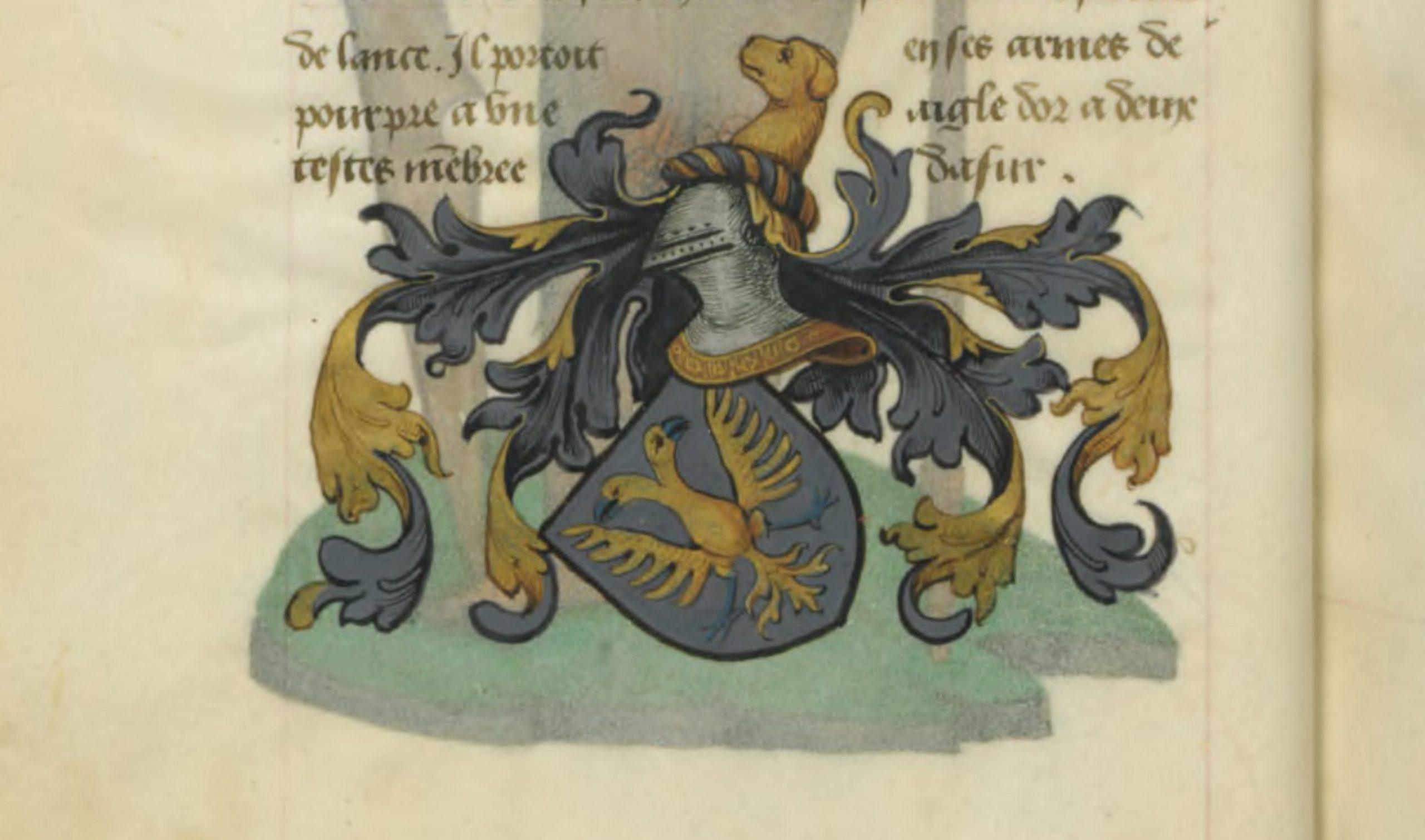 Blason du roi Lot d'Orcanie