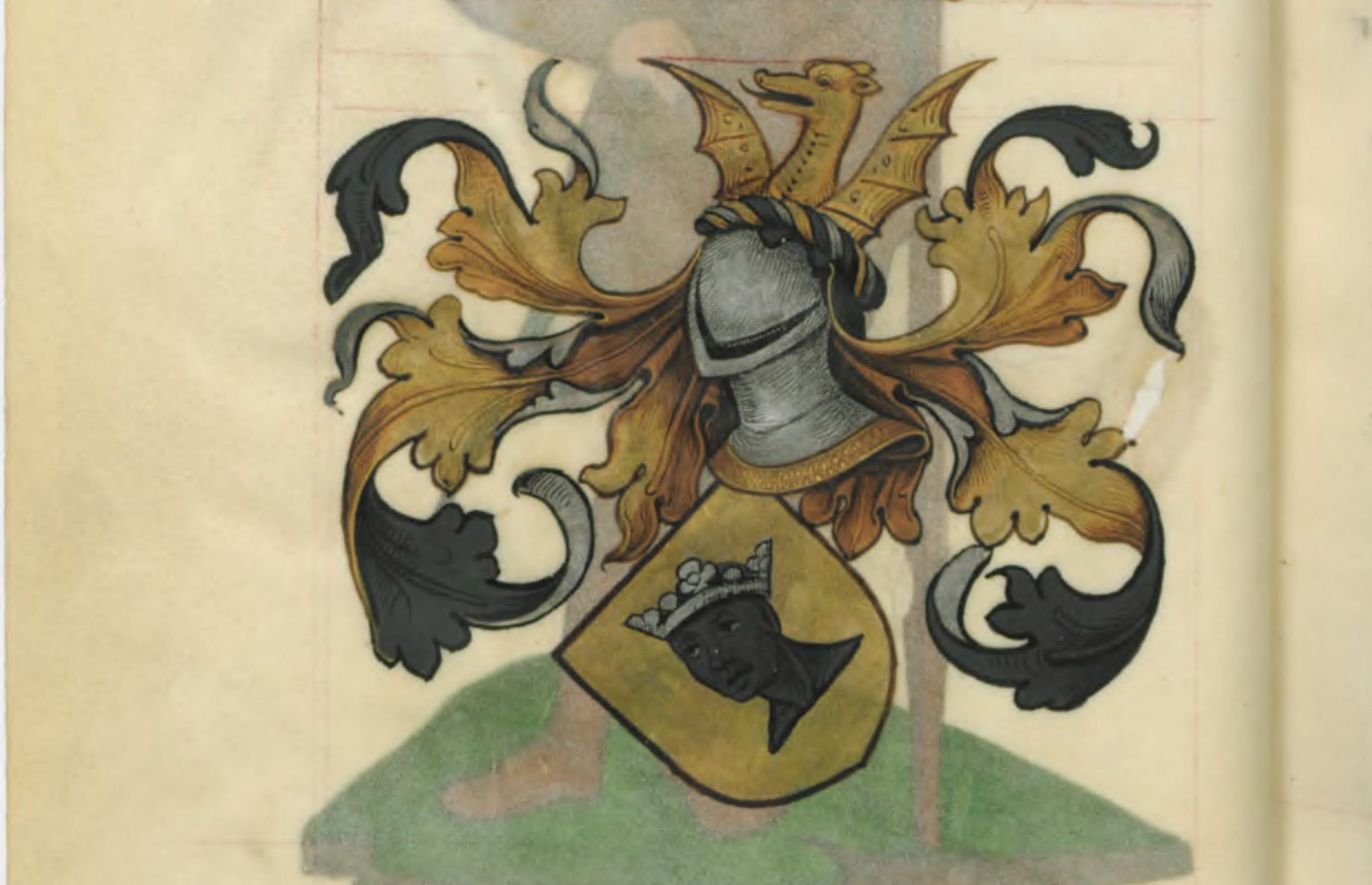 Blason de Malaquin le Danois