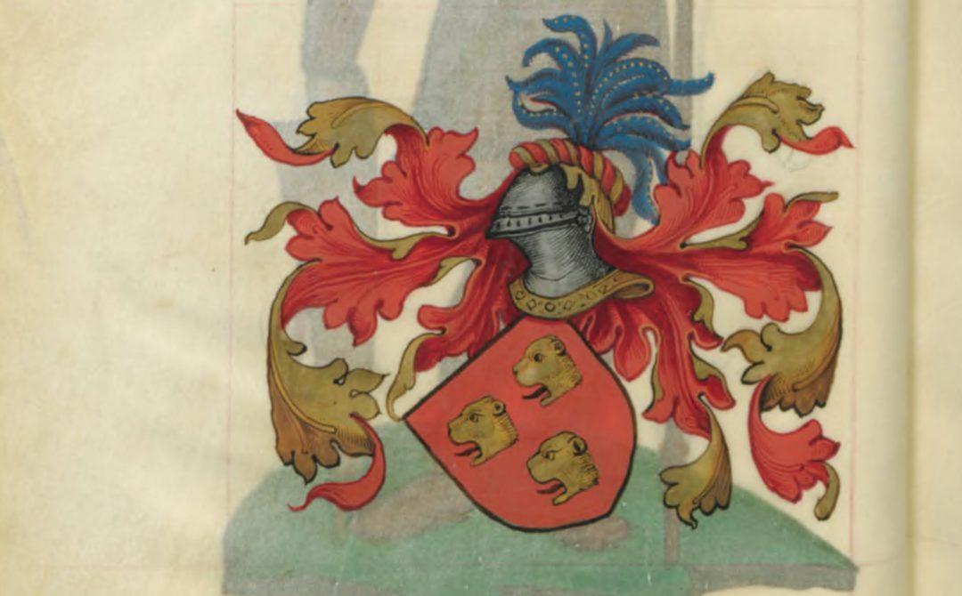 Blason d'Yder de Cornouailles