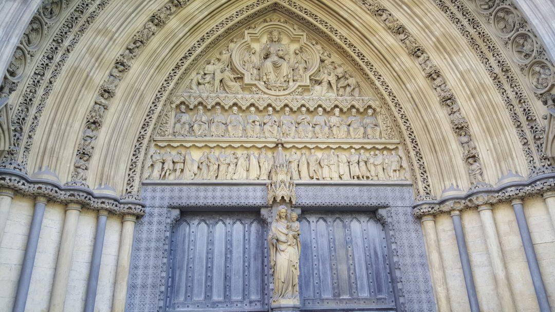Tympan Abbaye de Wesminster