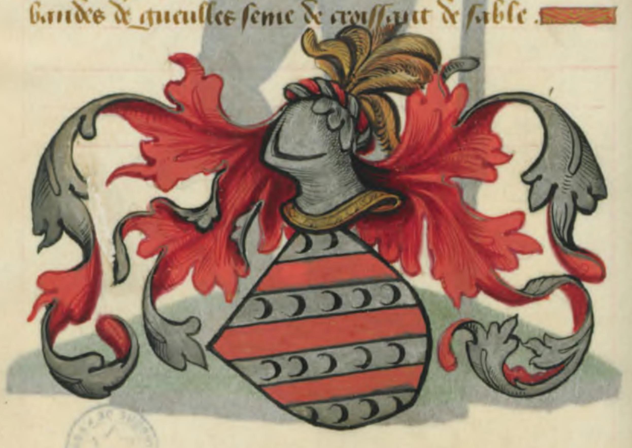 Blason de Blioberis de Gaunes