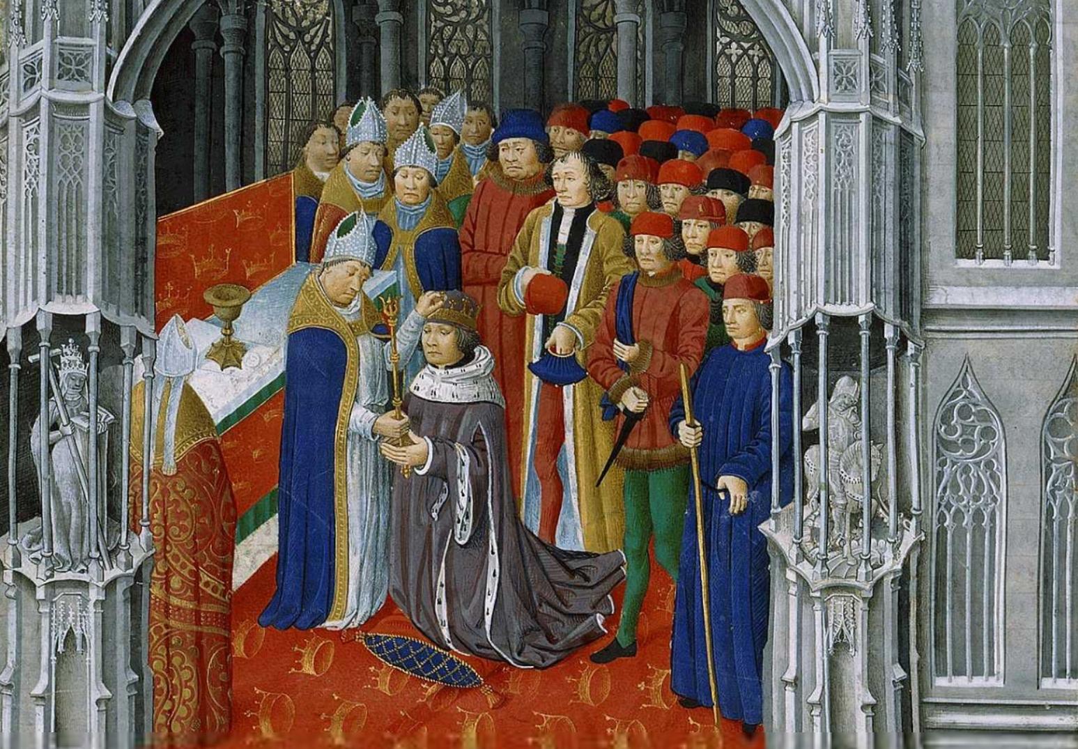 Le couronnement d'Arthur
