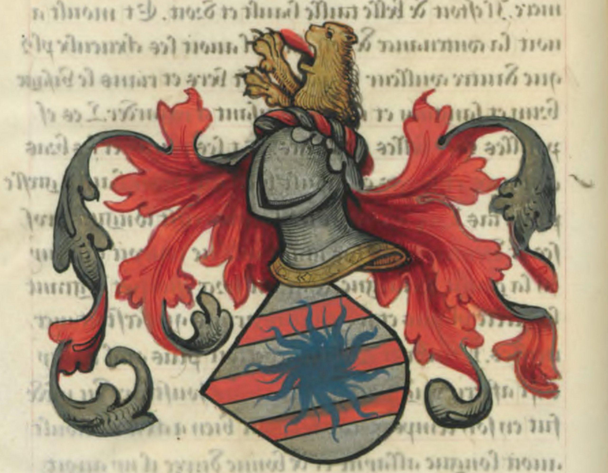 Blason d'Hector des Mares