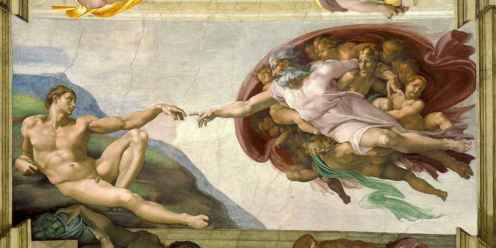 Michel-Ange, La Création d'Adam